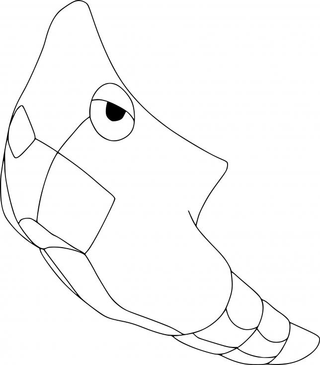 Coloriage Chrysacier Pokemon