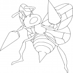 Coloriage Blancoton Pokemon