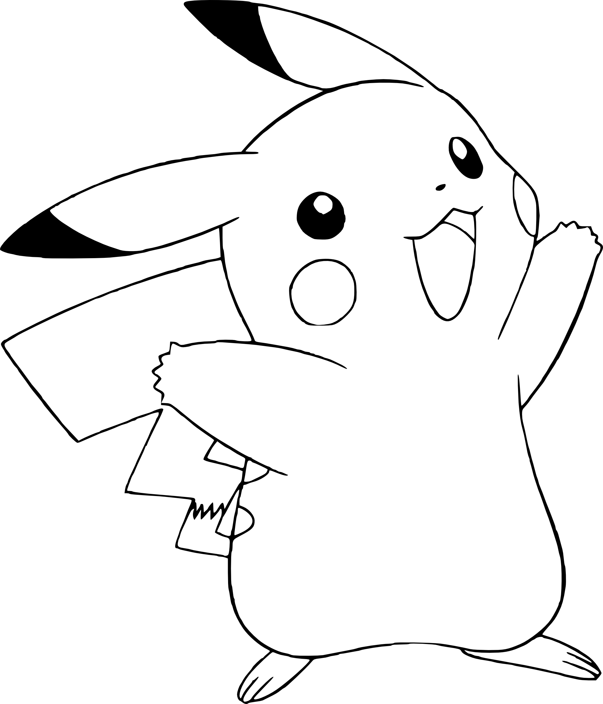 Coloriage pikachu pokemon imprimer - Pikachu a imprimer ...