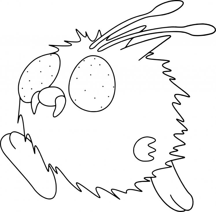 Coloriage Mimitoss Pokemon