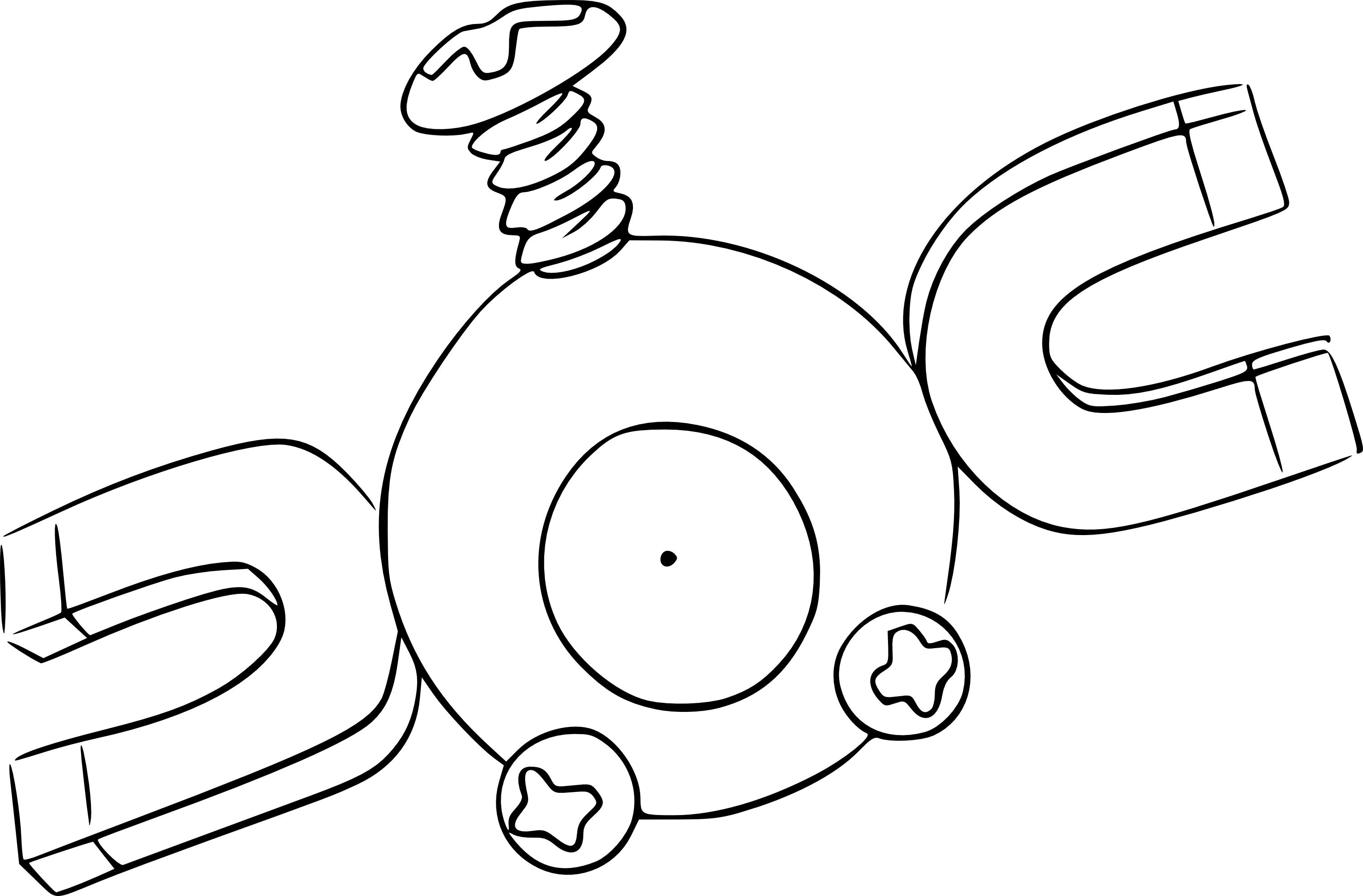 Belle Coloriages Des Pokemon Tipe Electrique