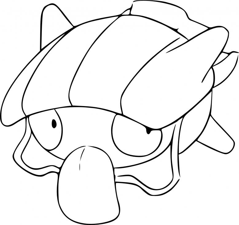 Coloriage Kokiyas Pokemon