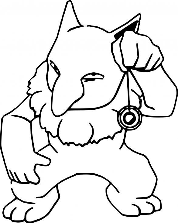 Coloriage Hypnomade Pokemon