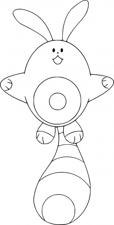 Coloriage Fouinette Pokemon