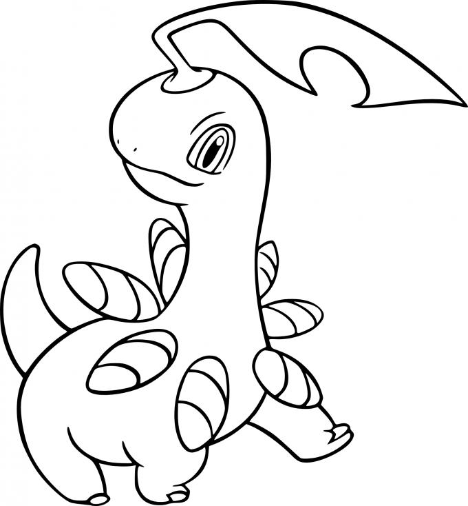 Coloriage Macronium Pokemon