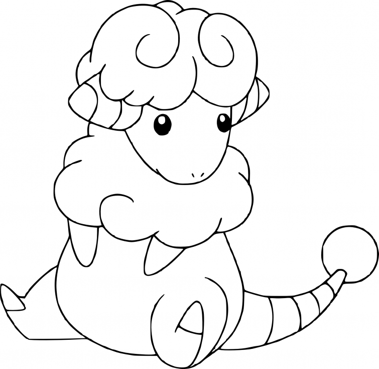 Coloriage Lainergie Pokemon