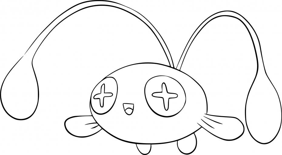 Coloriage Loupio Pokemon
