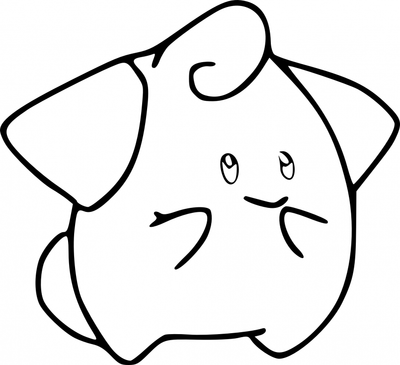 Coloriage Mélo Pokemon