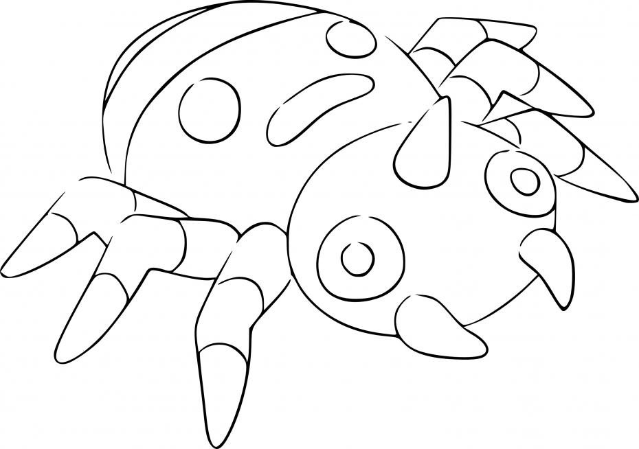 Coloriage Mimigal Pokemon