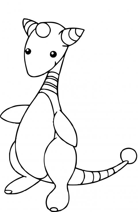 Coloriage Pharamp Pokemon