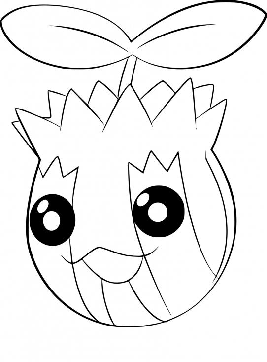 Coloriage Tournegrin Pokemon