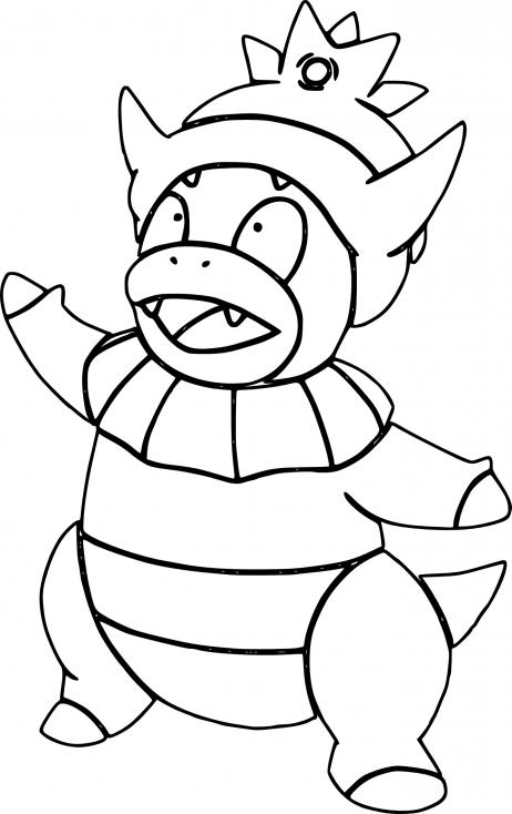 Coloriage Roigada Pokemon