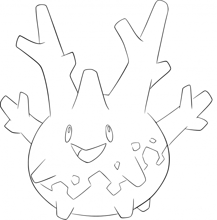 Coloriage Corayon Pokemon