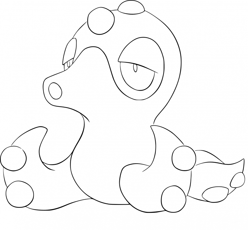 Coloriage Octillery Pokemon