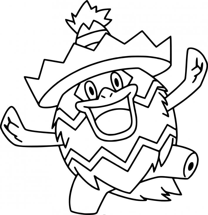 Coloriage Ludicolo Pokemon