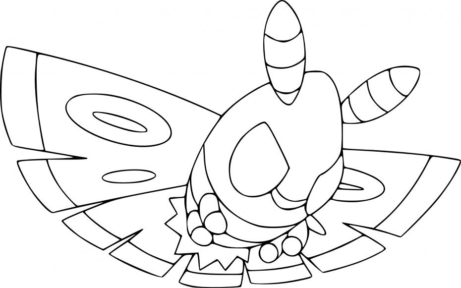 Coloriage Papinox Pokemon