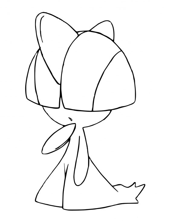 Coloriage Tarsal Pokemon