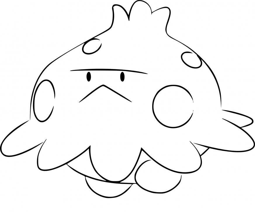 Coloriage Balignon Pokemon
