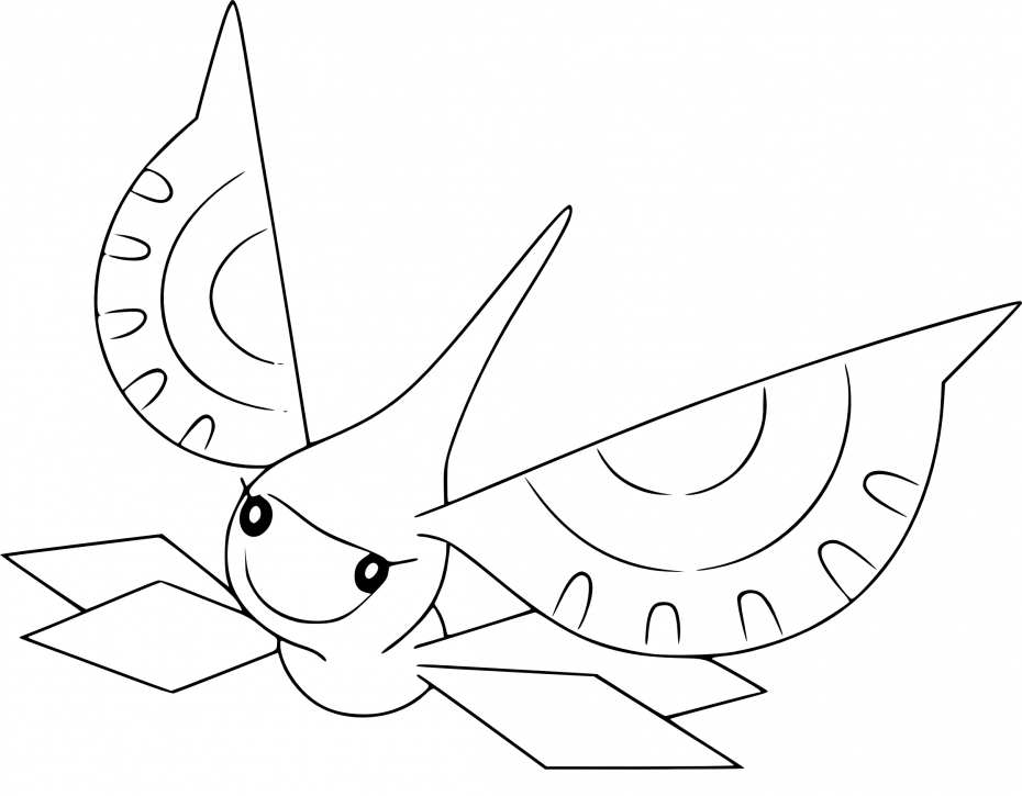 Coloriage Maskadra Pokemon