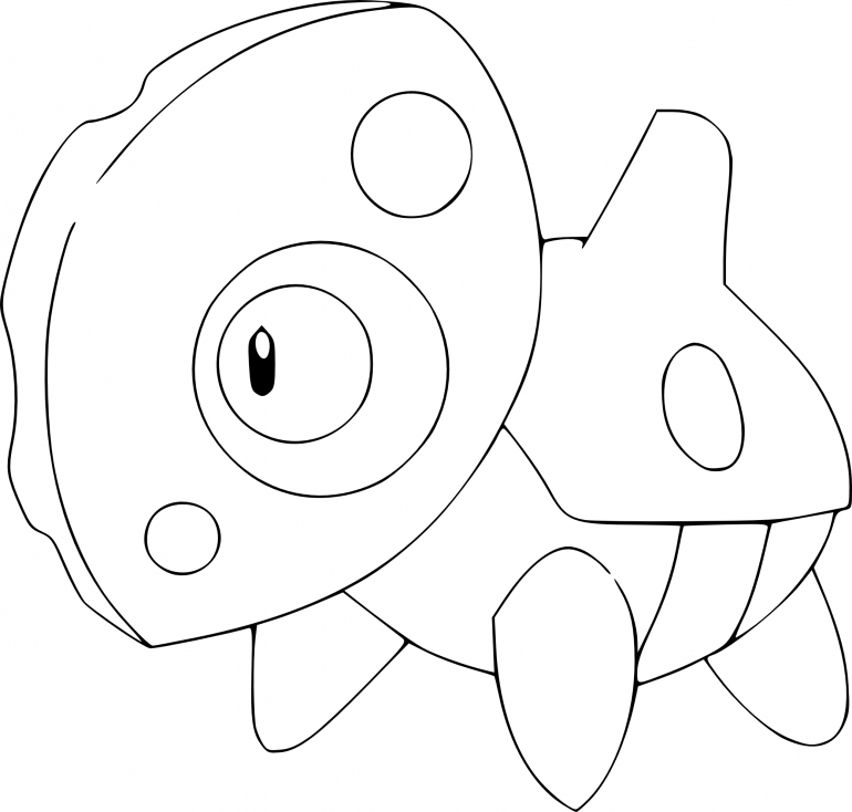 Coloriage Galekid Pokemon