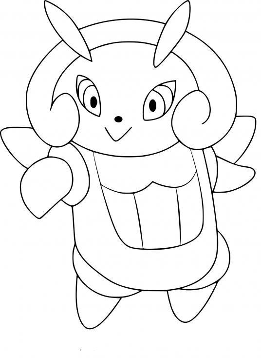 Coloriage Lumivole Pokemon
