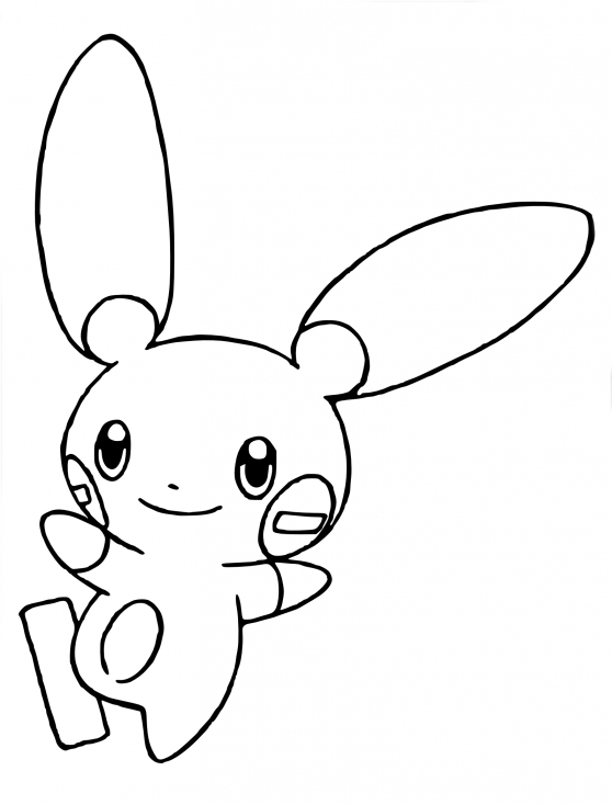 Coloriage Négapi Pokemon