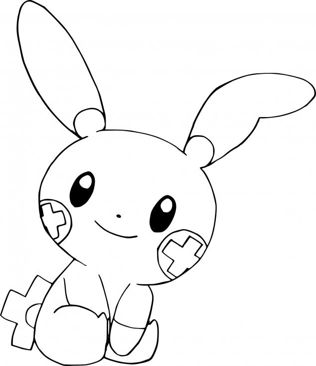 Coloriage Posipi Pokemon
