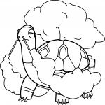 Coloriage Chartor Pokemon
