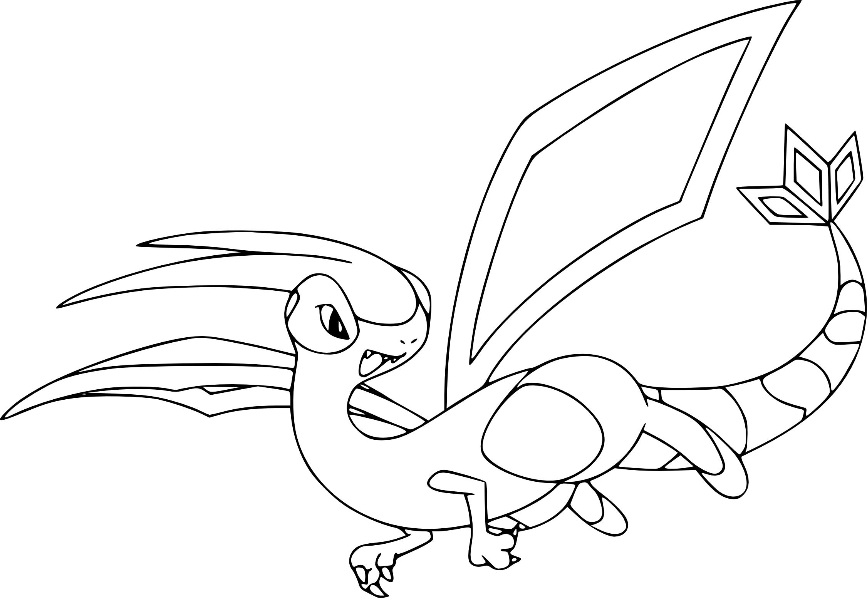 Coloriage lib gon pokemon imprimer - Coloriage pokemon feu ...