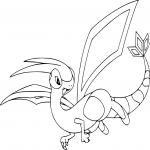 Coloriage Libégon Pokemon