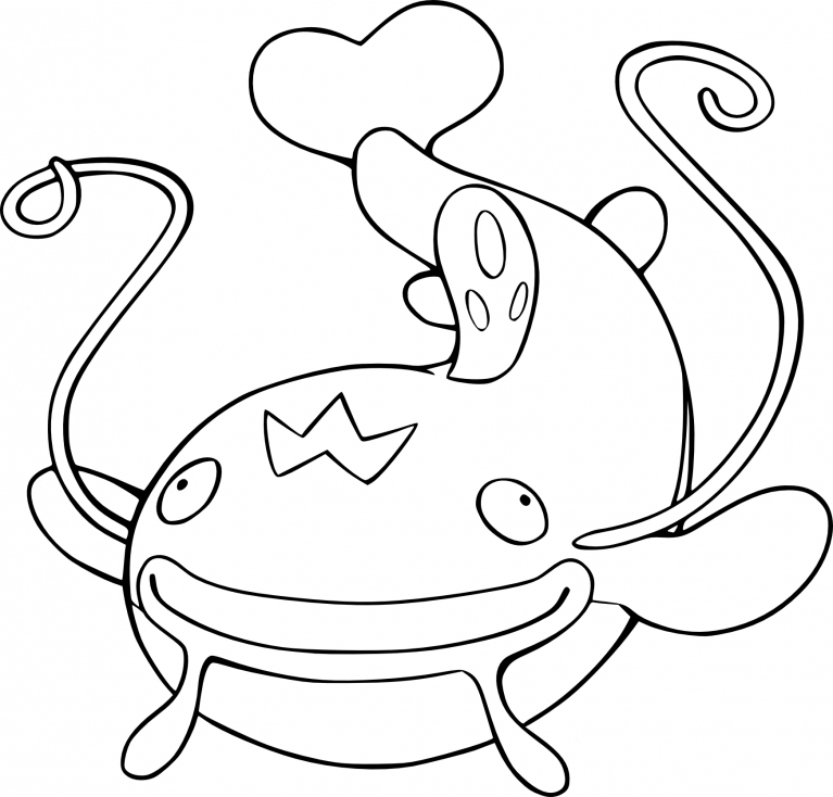 Coloriage Barbicha Pokemon