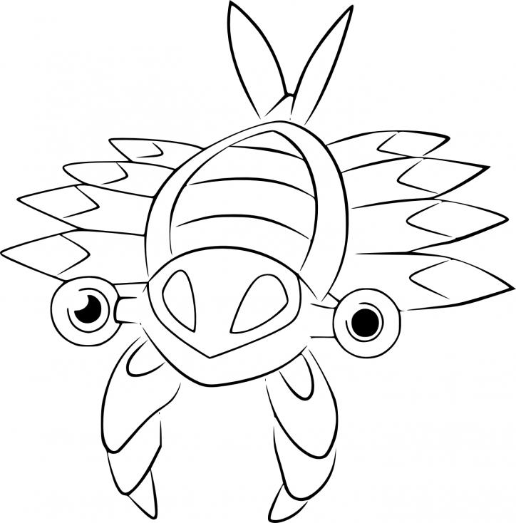 Coloriage Anorith Pokemon