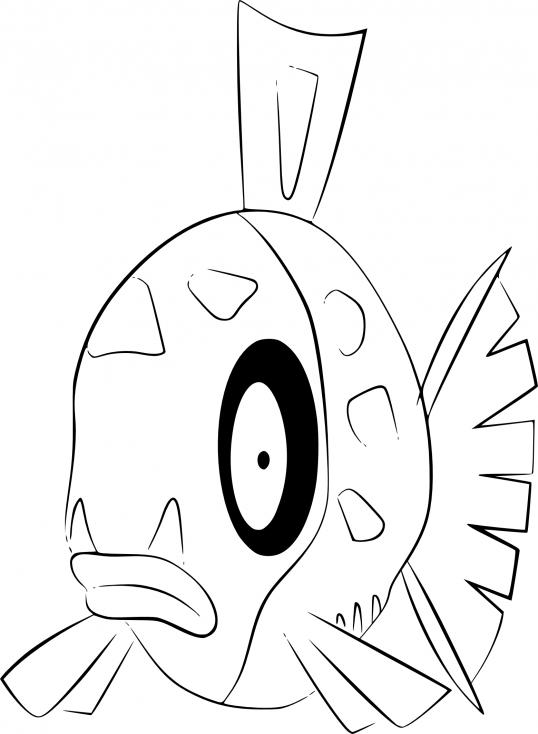 Coloriage Barpau Pokemon