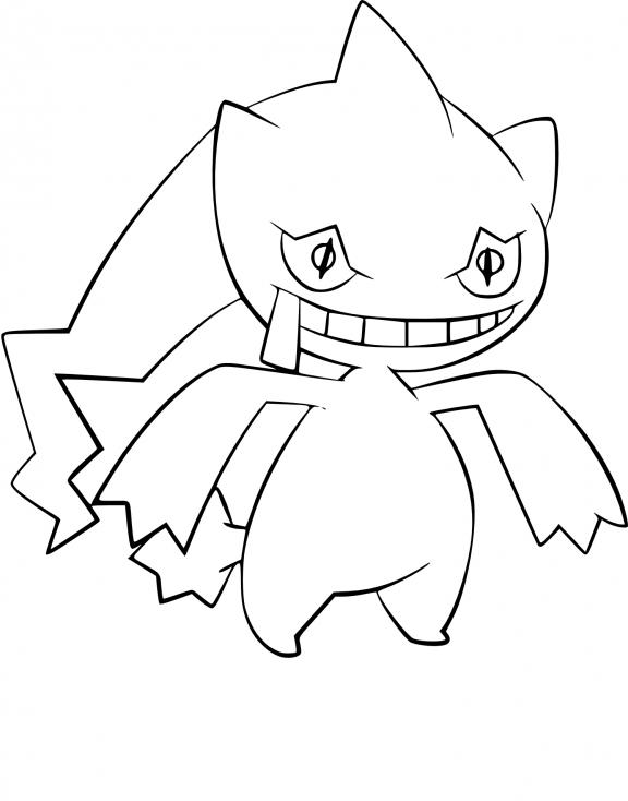 Coloriage Branette Pokemon