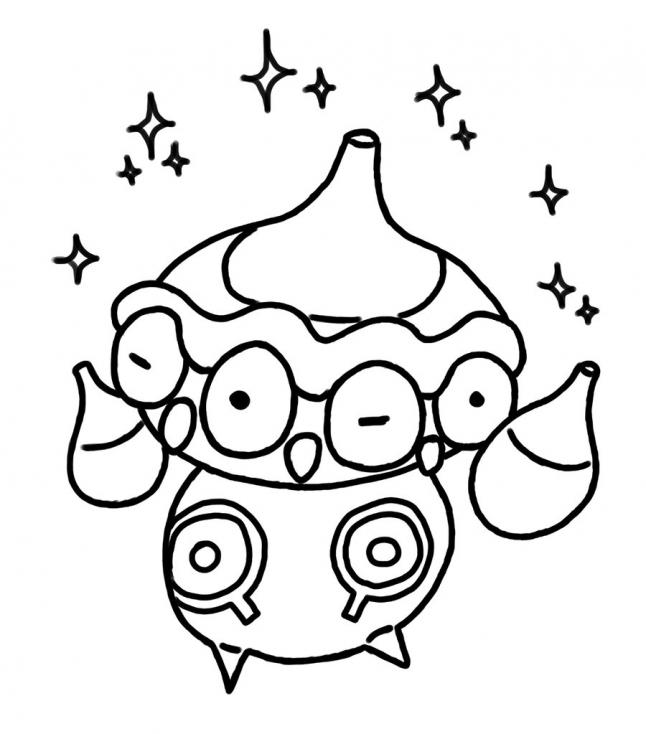 Coloriage Kaorine Pokemon