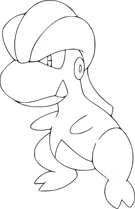 Coloriage Draby Pokemon