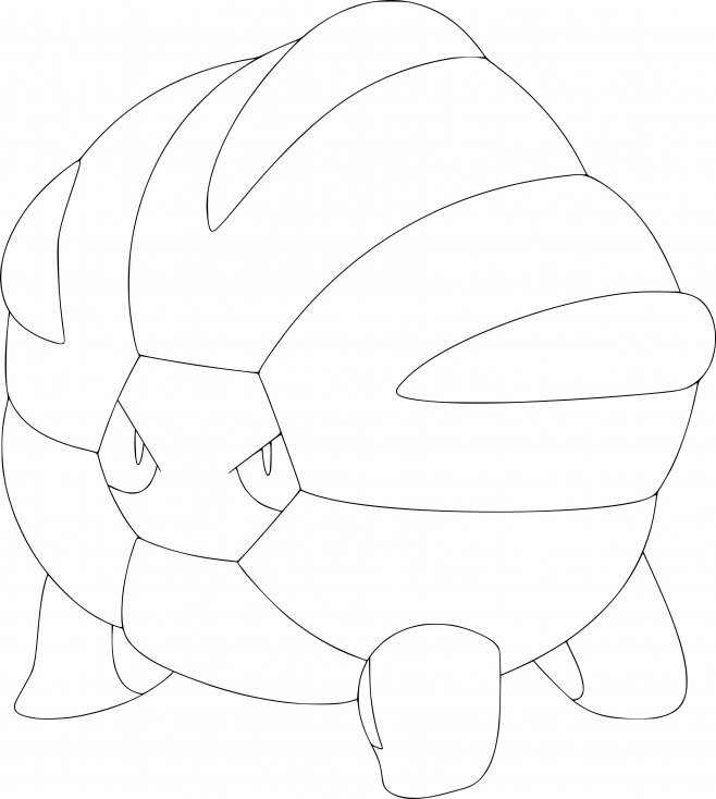 Coloriage Drackhaus Pokemon