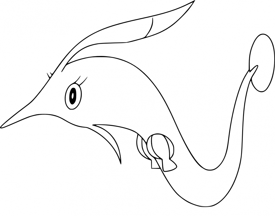 Coloriage Rosabyss Pokemon