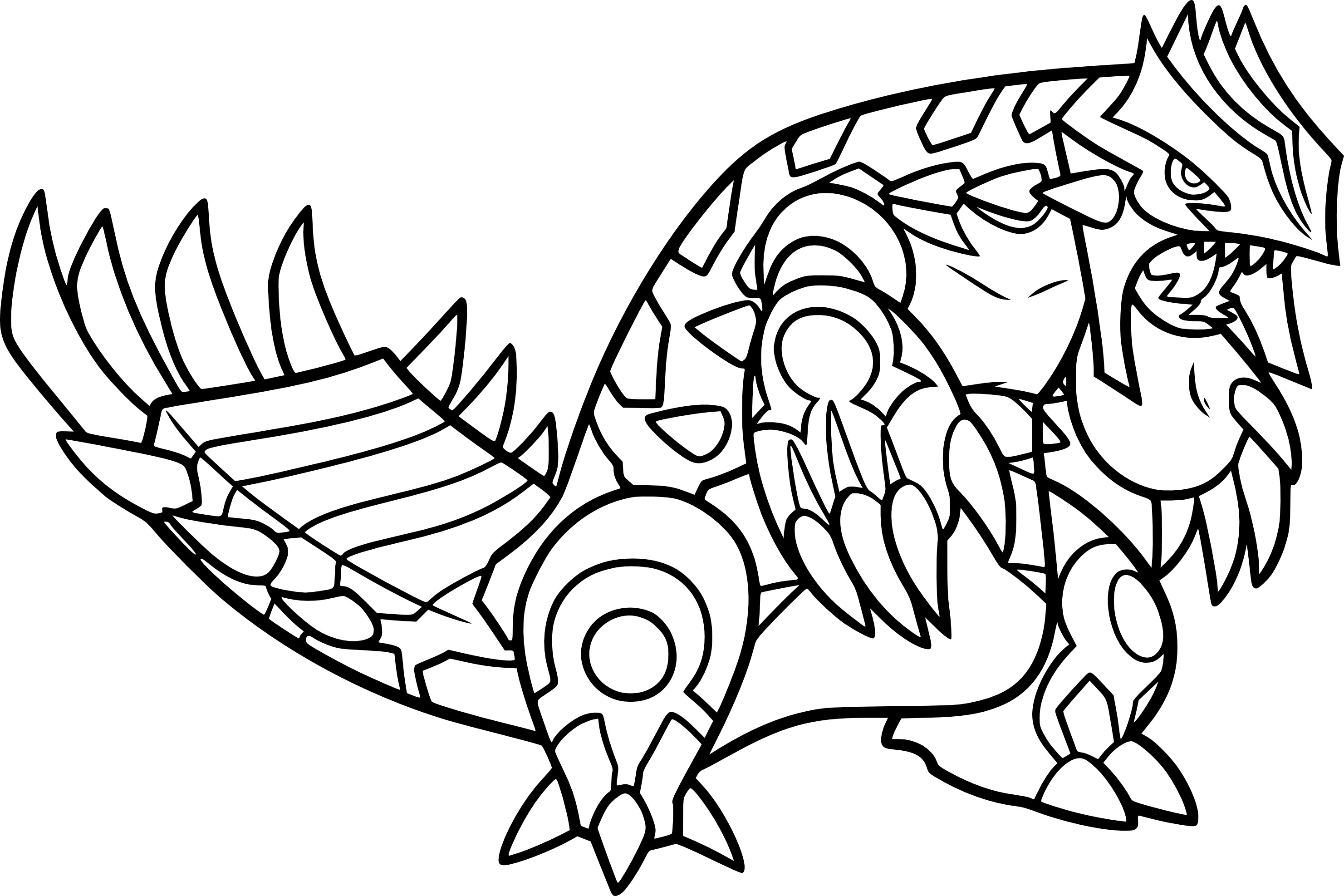 Pokemon Fynx Ausmalbilder : Legendary Pokemon Coloring Pages Xerneas Coloringstar Legendary