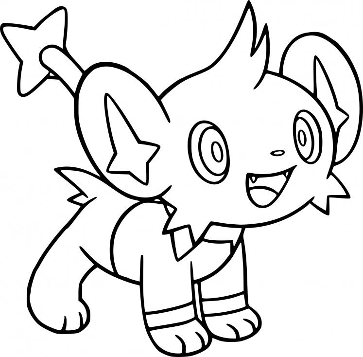 Coloriage Lixy Pokemon