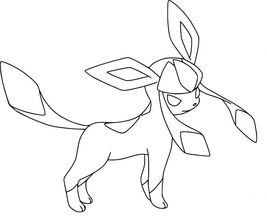 Coloriage Givrali Pokemon
