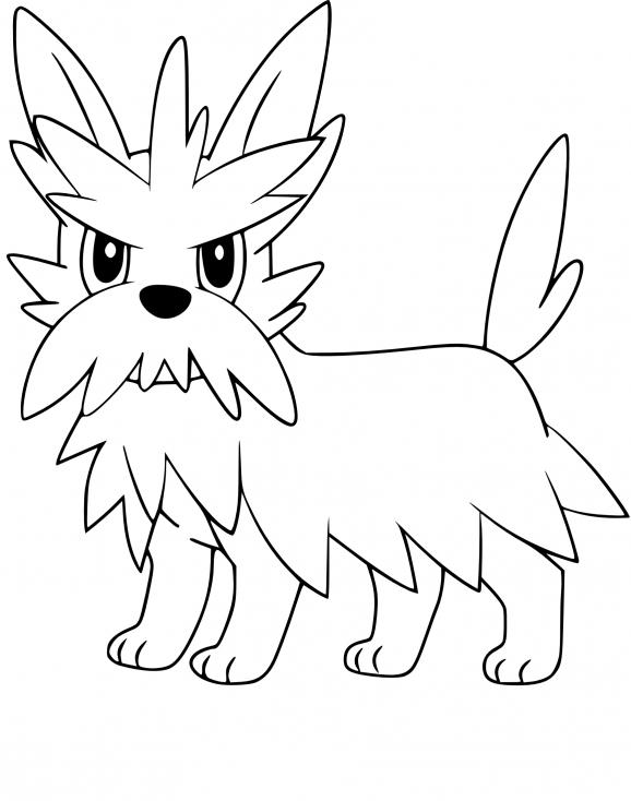 Coloriage Ponchien Pokemon