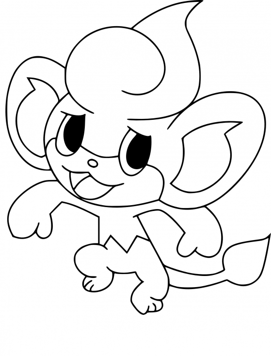 Coloriage flamajou pokemon imprimer - Evolution flamajou ...