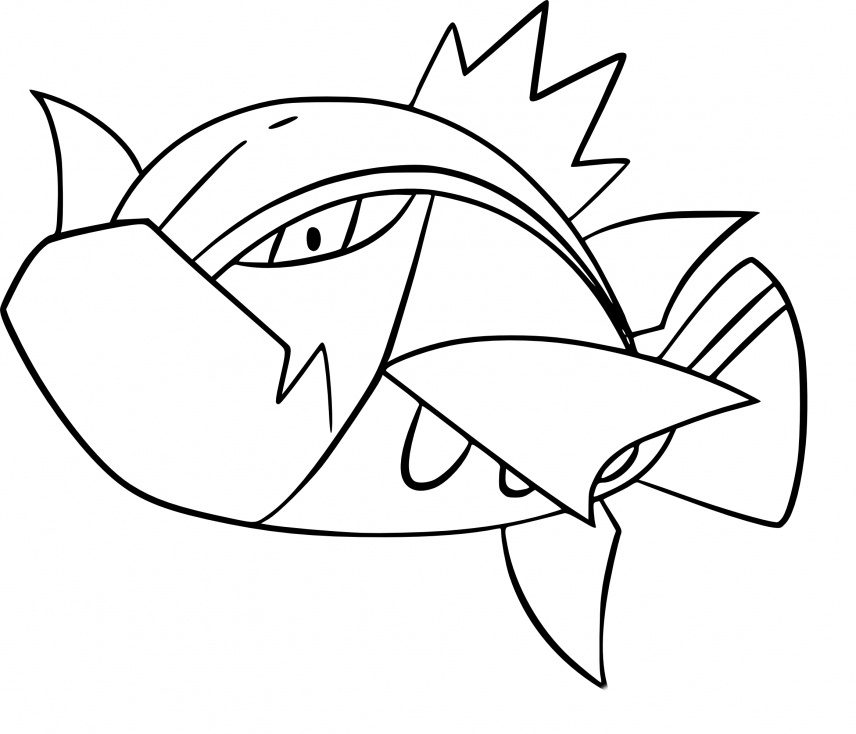 Coloriage Bargantua Pokemon