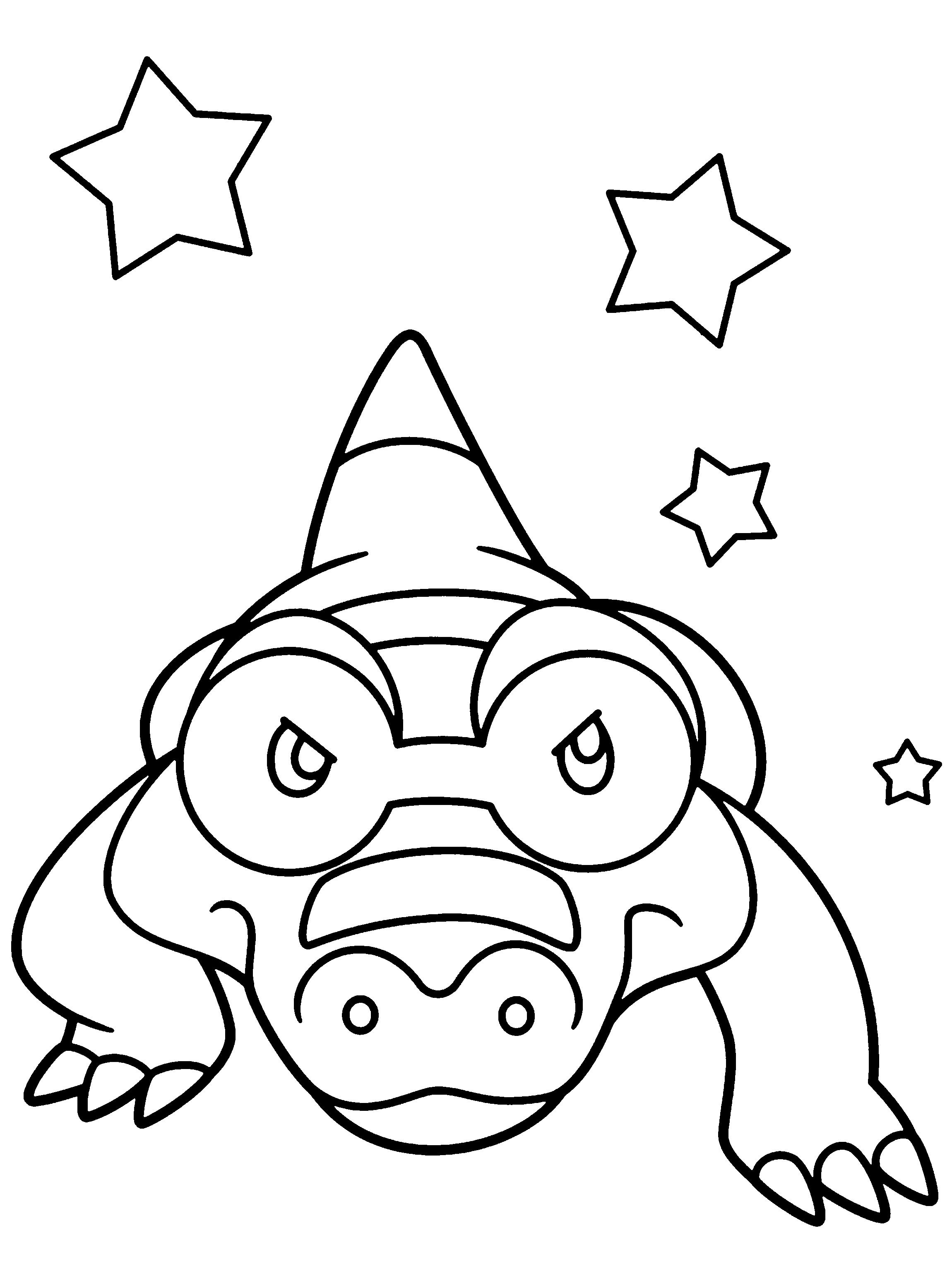 Coloriage Masca 239 Man Pokemon 224 Imprimer