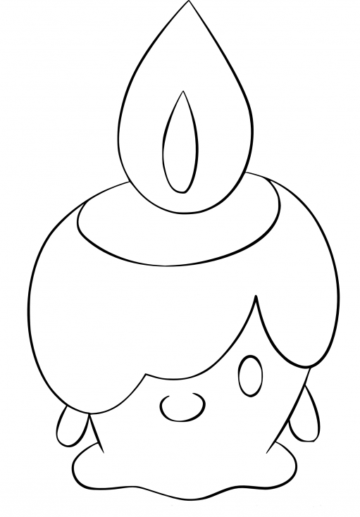 Coloriage Funécire Pokemon