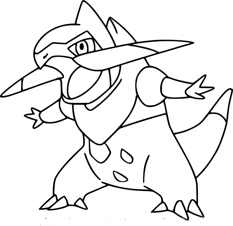 Coloriage Incisache Pokemon