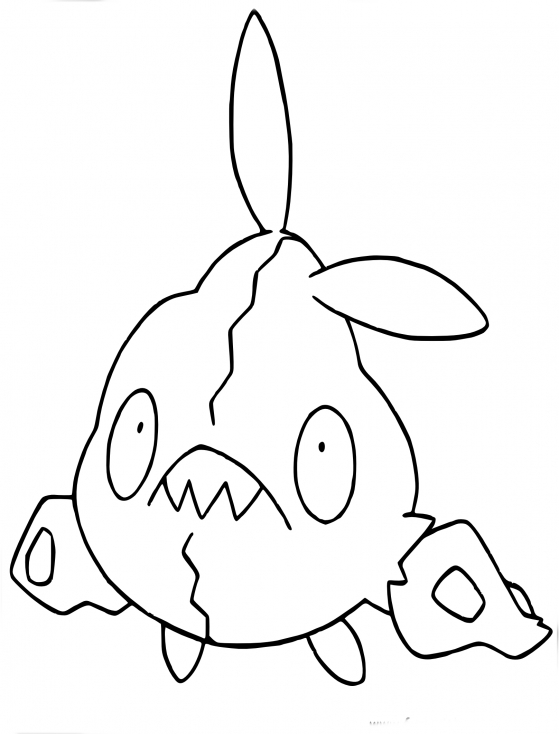 Coloriage Miamiasme Pokemon