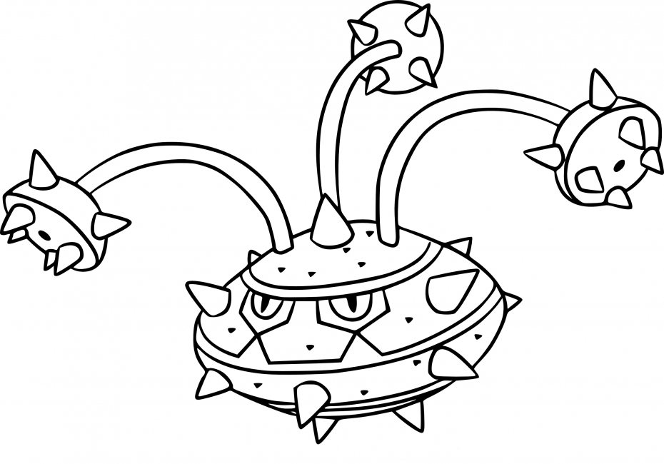 Coloriage Noacier Pokemon