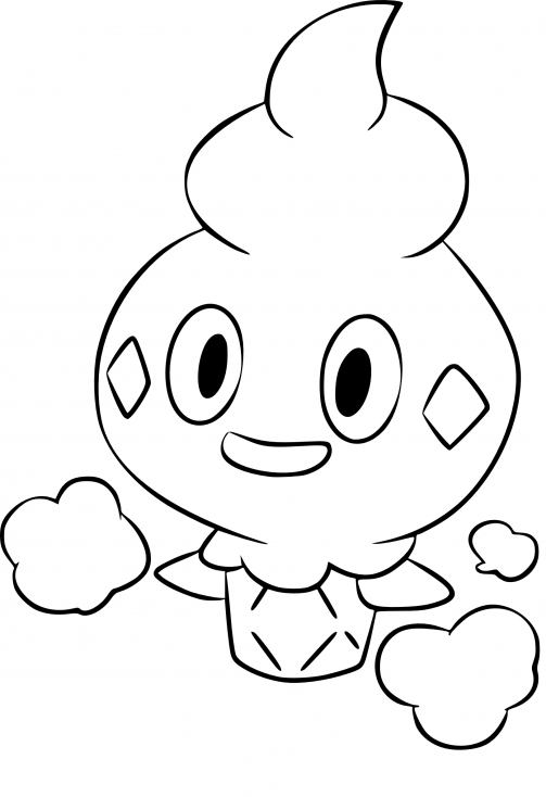Coloriage Sorbébé Pokemon